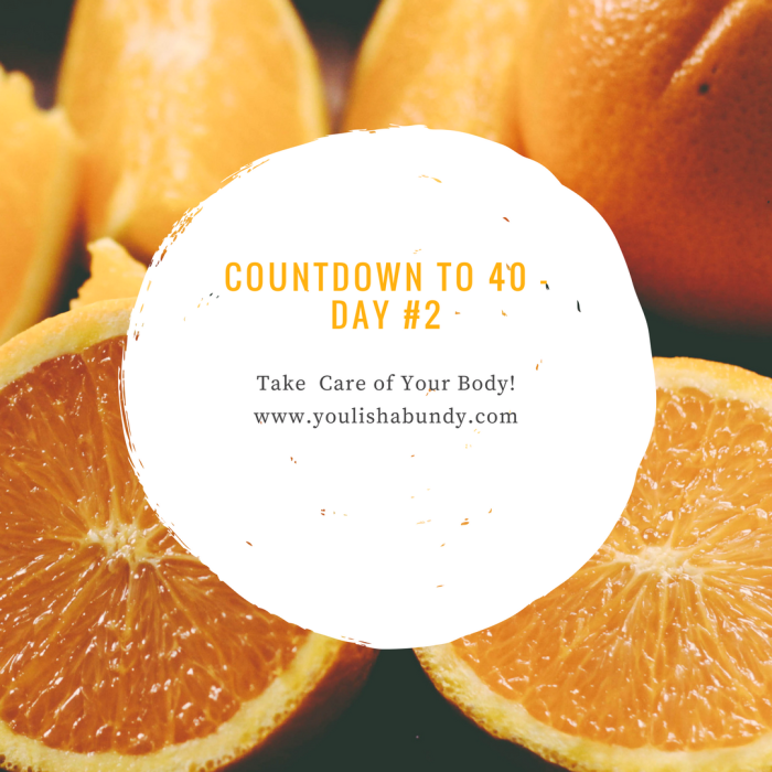Countdown to 40 - day _2